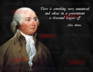 John Adams Quote Poster