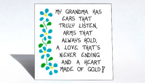 Grandma Magnet - Grandmother quote, Nana, Grammy, Oma, Bubbe,Granny ...