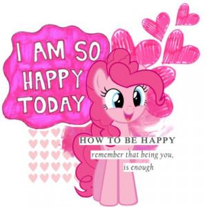 ... dog i am happy sooo happy so happy smarties ponies happy today i m