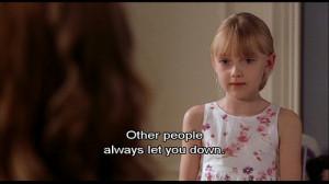 brittany murphy, dakota fanning, movie, quote, screen cap, uptown girl