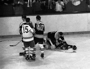 ... Hodge Kneels Over Bobby Orr Who Was Knocked Out By Leafs Pat Quinn.jpg