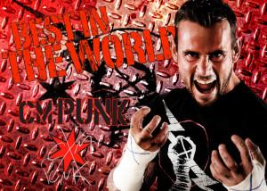CM Punk Wallpaper by F4wk3s