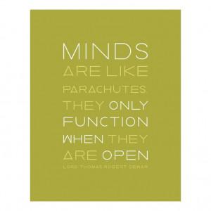 An Open Mind