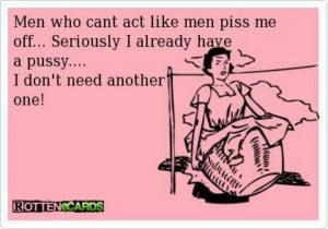 Immature men
