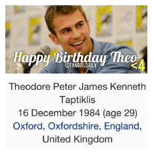 Theo James Divergent - Stock Image