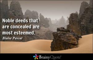 Good Deeds Quotes