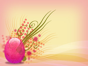 Easter Egg: A colorful Easter egg graphic.Please support my workby ...