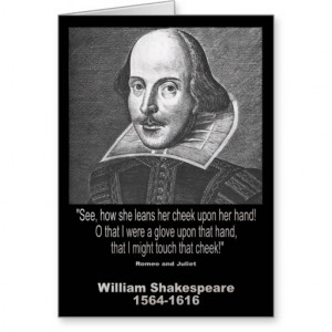 William Shakespeare Quote Greeting Card