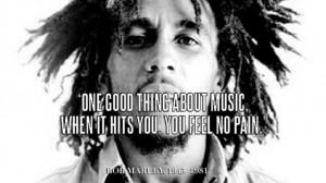 Benjamin Ebel Bob Marley Quote