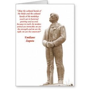 Zapata Quotes in Spanish http://www.zazzle.com/emiliano_zapata_quote ...