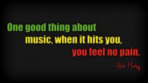 Bob Marley Music Quotes