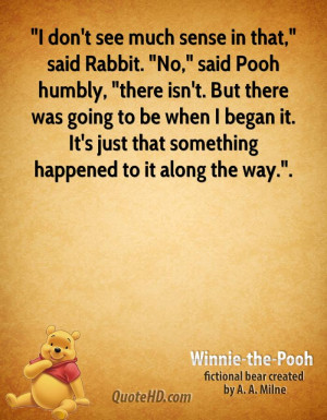 quote i dont see much sense in that said rabbit no sai Rabbit Quotes ...