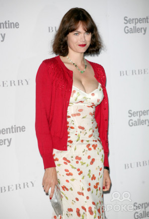 Jasmine Guinness attends the Burberry Serpentine Summer Party at the
