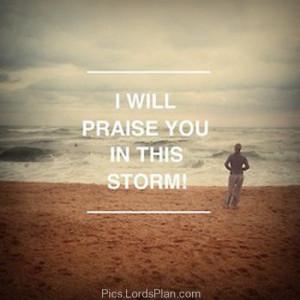 praise him because no problem is bigger than god .,Famous Bible Verses ...