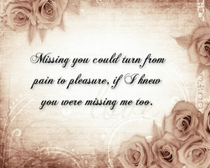 30+ Missing You Quotes