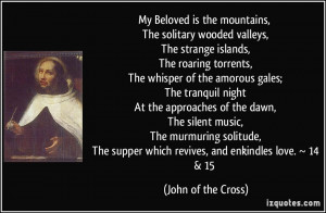 More John of the Cross Quotes
