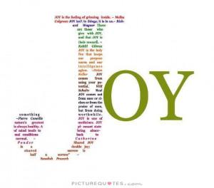 Joy Picture Quote #1