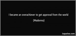 More Madonna Quotes