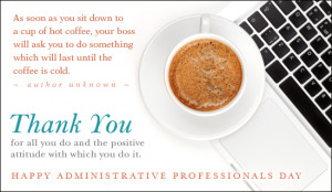 ... administrative professionals day cards administrative professionals