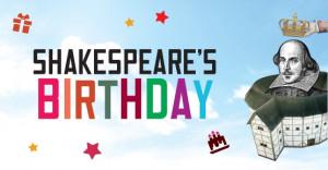 Shakespeare Birthday Poster