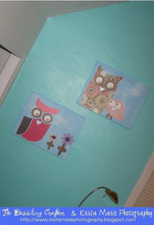 DIY Wednesday: Owl Art