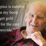 salute to service hospice cares for veteran for bob hospice of the red ...