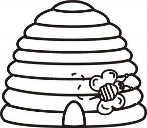 Here Home Beehive Bee Going
