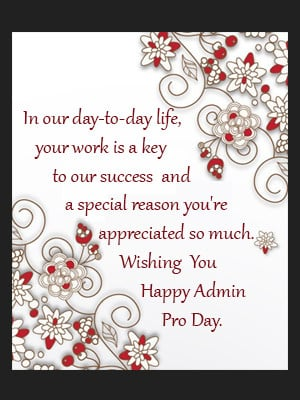 Free Administrative Professionals Week Ecards Greetings