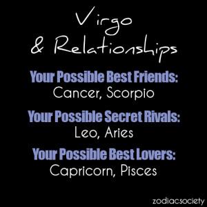 Virgo Zodiac Sign Compatibility