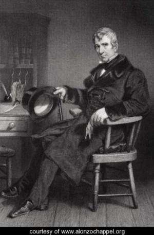 Portrait of William Henry Harrison (1773-1841), ninth President.