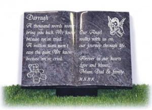 Childrens Memorial Plaques & Baby Memorials