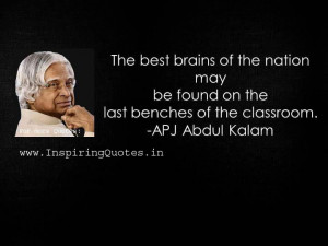 Abdul Kalam Motivational Thoughts images wallpapers