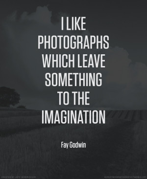 Fay Godwin photographer quote