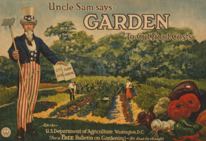 In times of war, we grew victory gardens to support our troops ...