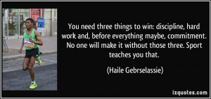 Hard Work and Commitment Quotes