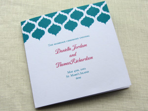 Wedding Program Poems and Quotes . Wedding Program Wording . Love ...