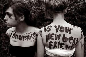 best friend, friends, girl, ignorance, lyrics, paramore