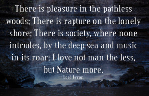 ... Nature Is Your Valentine: Words of Wisdom from Famous Nature Lovers