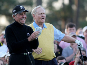 Gary Player and Jack Nicklaus both love the Masters