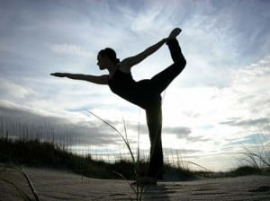 National Yoga Awareness Month , I wanted to perhaps turn YOU onto yoga ...
