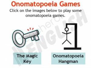 Onomatopoeia Poem Worksheet