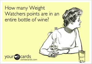 weight watcher points, funny quotes
