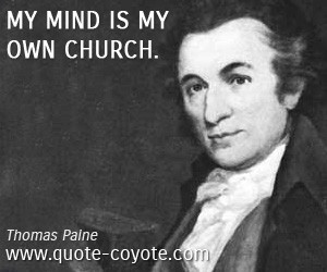 Thomas Paine quotes
