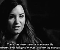 Demi Lovato Depression Quotes