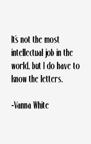 Vanna White Quotes amp Sayings