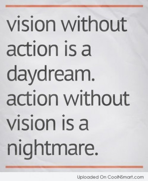 Vision Quotes and Sayings