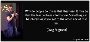 More Craig Ferguson Quotes