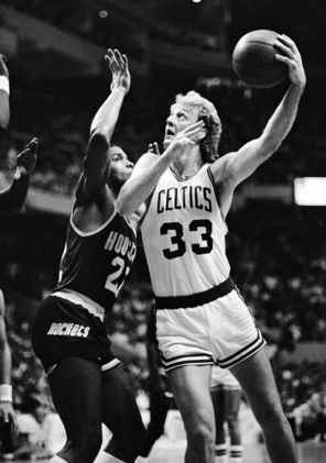 Often times, Larry Bird would come out with some cocky talk. And just ...