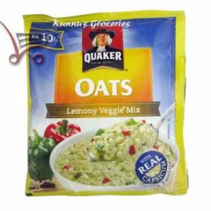 Lemony Veggie Quaker Oats