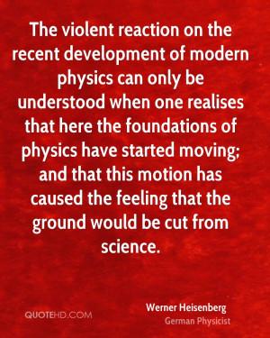 Werner Heisenberg Quotes